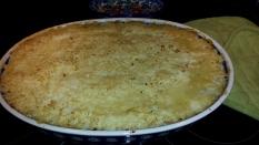 Shepherd's pie cooked
