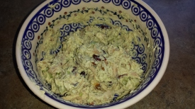 Chicken Salad w/Avocado-Yogurt Dressing