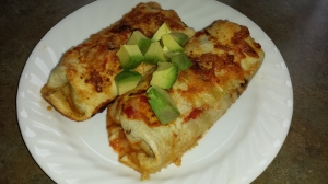 June '15 Veggie Enchiladas
