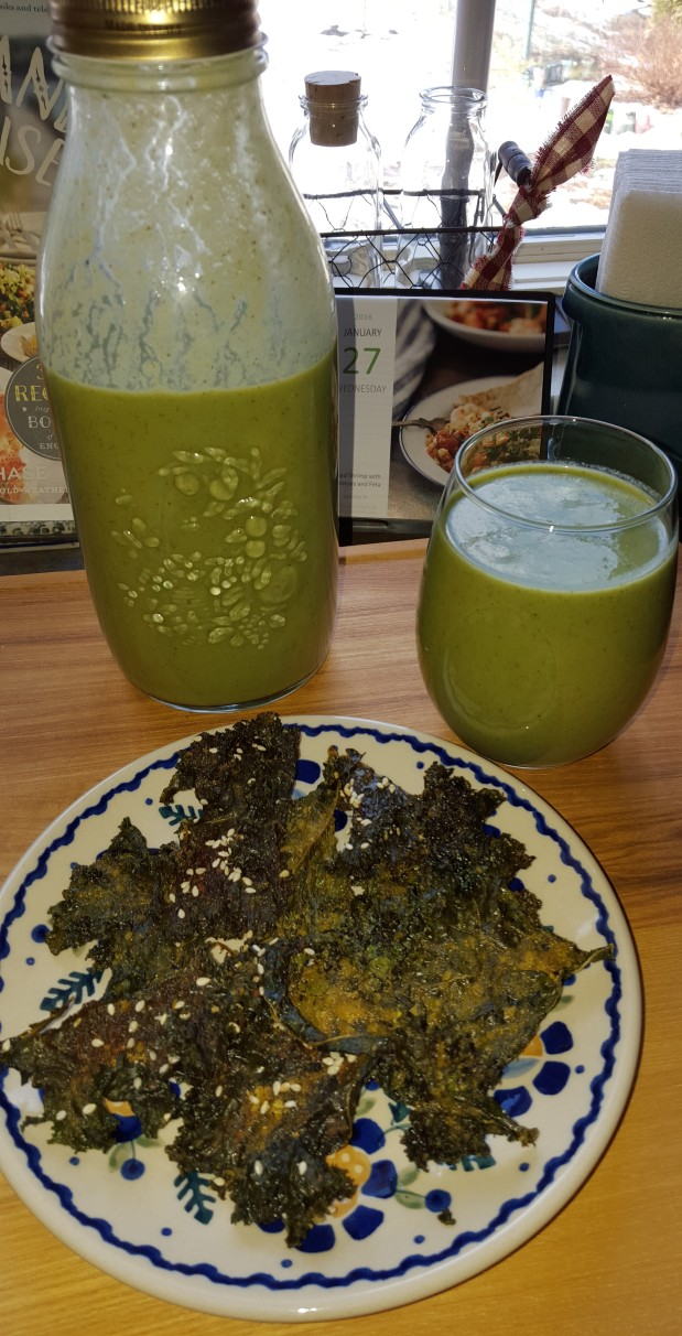 Kale Chips & Other Green Things